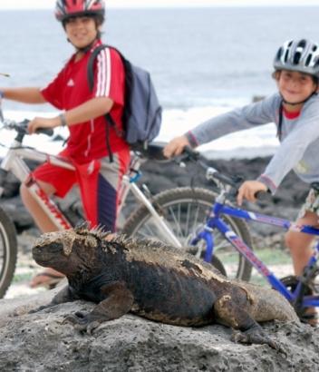 Biking-in-Isabela-Island